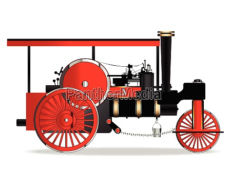 vintage steam roller