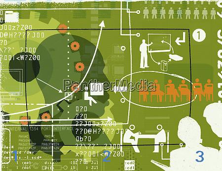 unternehmenskommunikation collage
