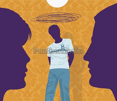 eltern sorgen sich um wuetenden teenager