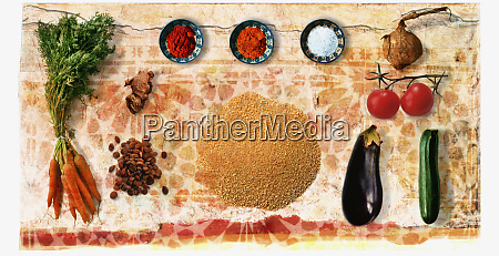moroccan spices and ingredients