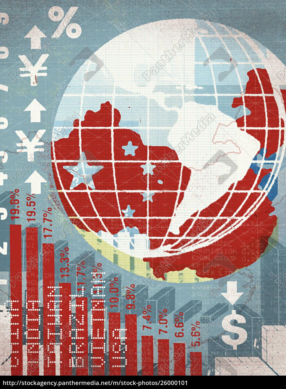 globe, und, internationa, lfinancial, chart - 26000101