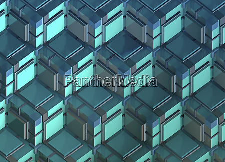 full frame three dimensional repeat building
