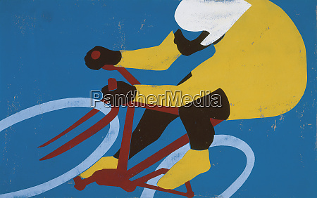 profi radfahrer fahrrad fahren