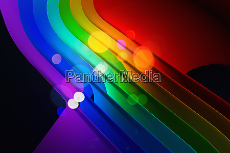 abstract backgrounds pattern of bright multicolored
