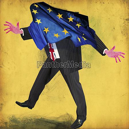 british politician stumbling with european union