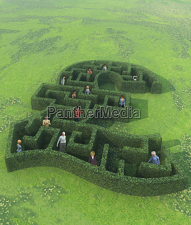 people lost in british pound labyrinth