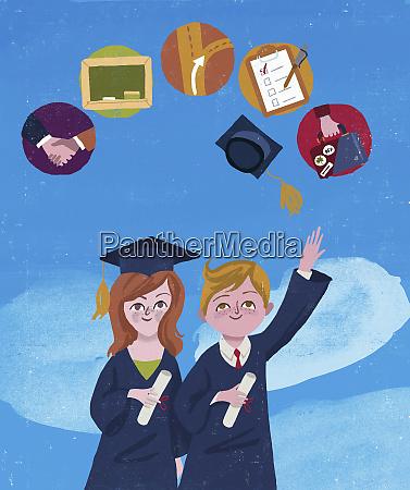 absolventen vorstellen zukunft