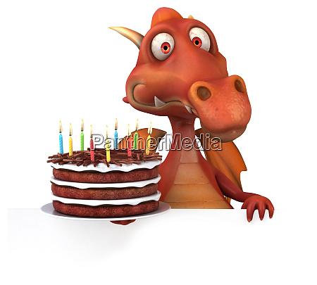 spass hippo 3d illustration