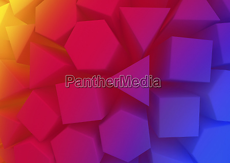abstract backgrounds pattern of multicolored geometric