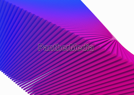 abstract stack of pink and purple