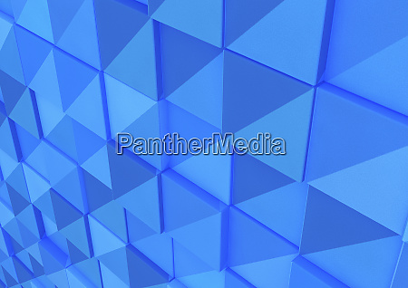 turquoise blue abstract full frame mosaic