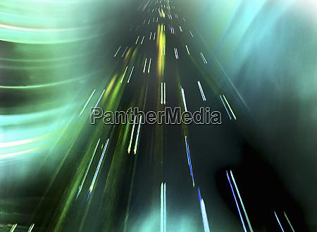 abstraktes, muster, von, lichtpfaden, die, sich, nach - 26007808