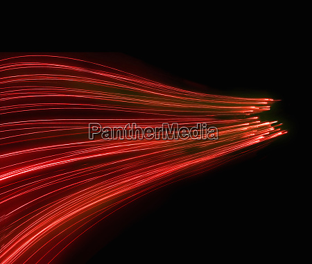 abstract background pattern of glowing red