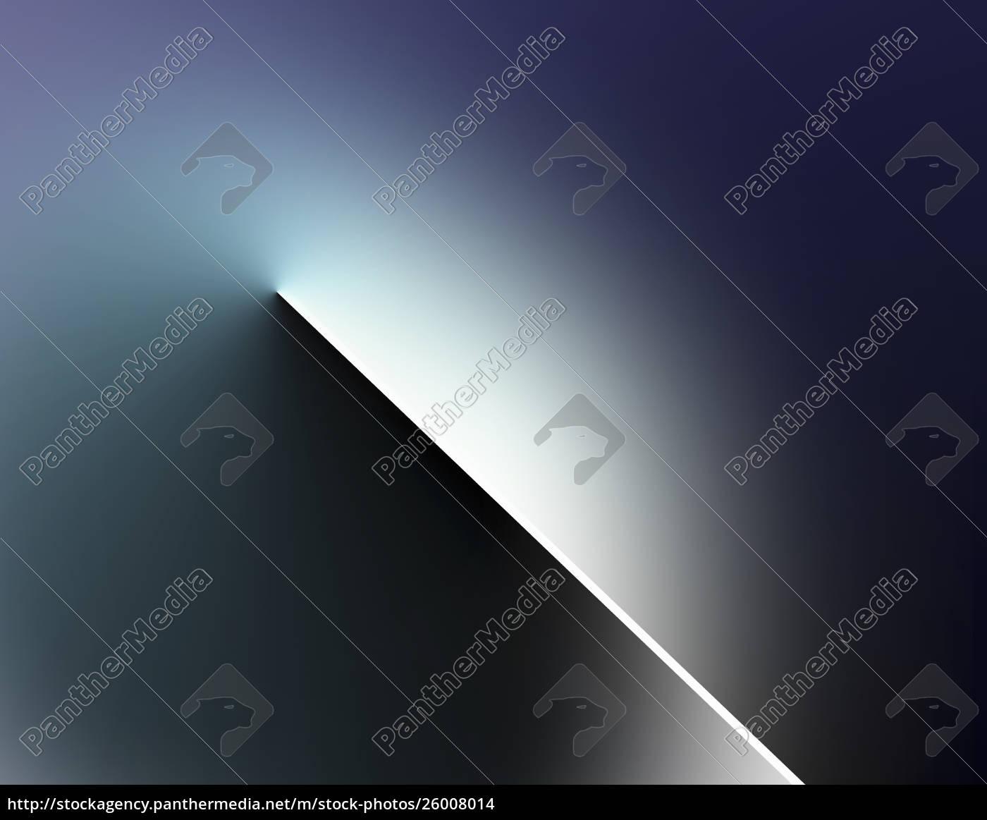 abstrakter, lichtstrahl, der, durch, die, dunkelheit, schneidet - 26008014