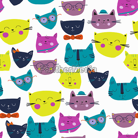 montage of lots of cute cat