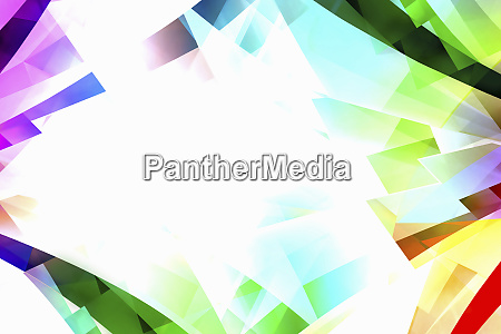 abstract backgrounds pattern of multicolored translucent