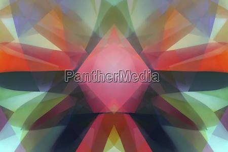 abstrakte hintergruende symmetrisches muster von mehrschichtigen