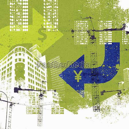 city finance and development collage with
