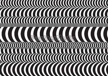 abstract black and white 3d poles