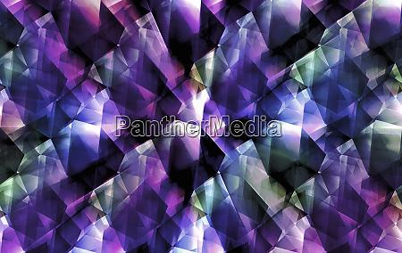 abstract purple geometric pattern