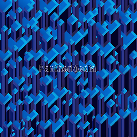 three dimensional dark blue abstract backgrounds