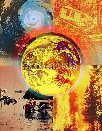 klimawandel und umweltkatastrophen
