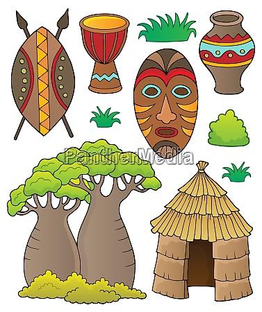 african thematics set 1