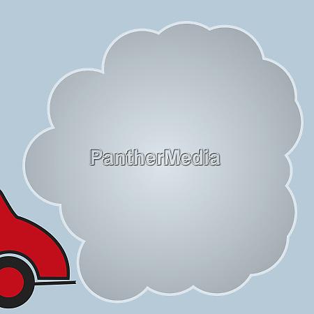 luftverschmutzung durch autoabgase