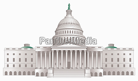 illustration of the united states capitol