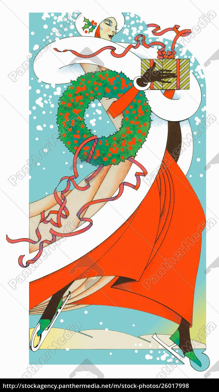 Comic Weihnachtsgeschenk Stock Vektor Art und mehr Bilder von ClipArt -  iStock