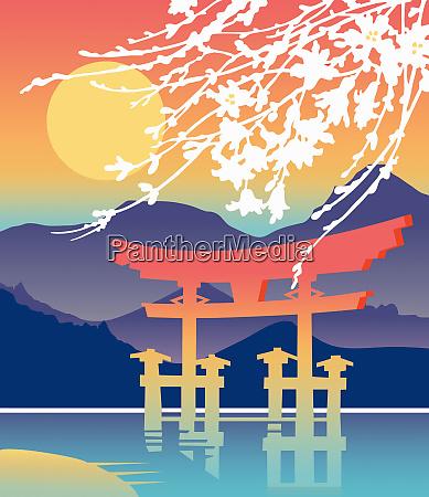 itsukushima shrine hatsukaichi japan