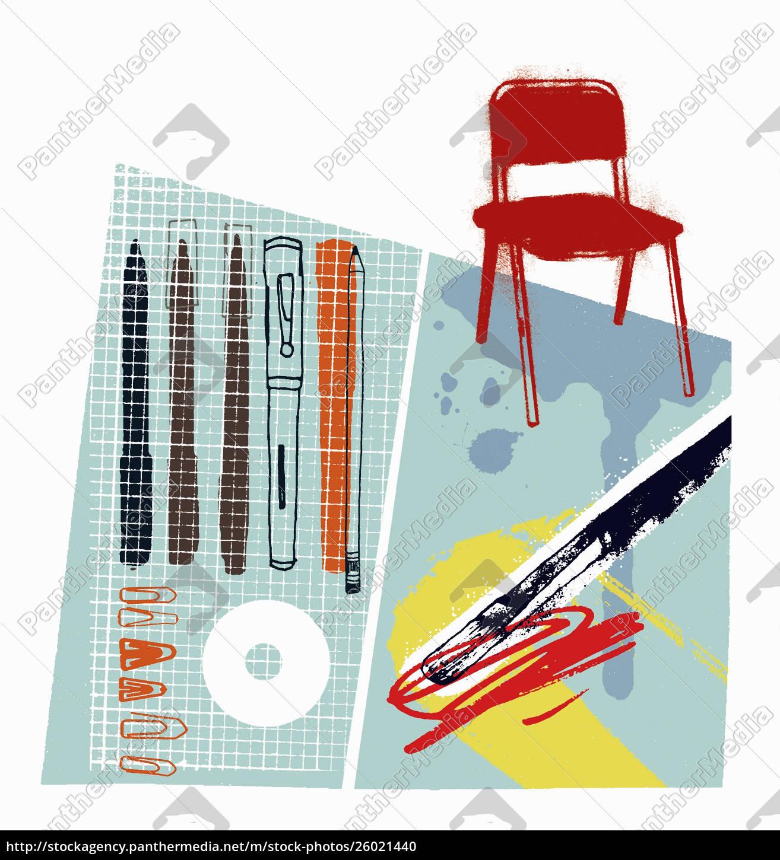grafische, künstlerstifte, und-ausstattung - 26021440
