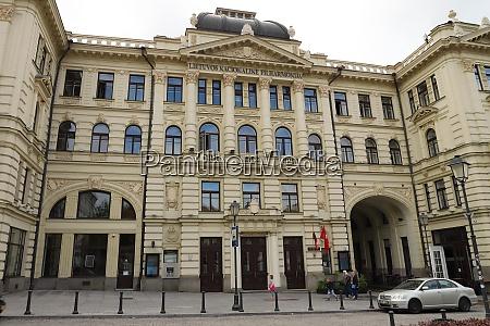 lithuania, vilnius-july, 03, 2018:, sitz, der, litauischen, nationalen - 26024822