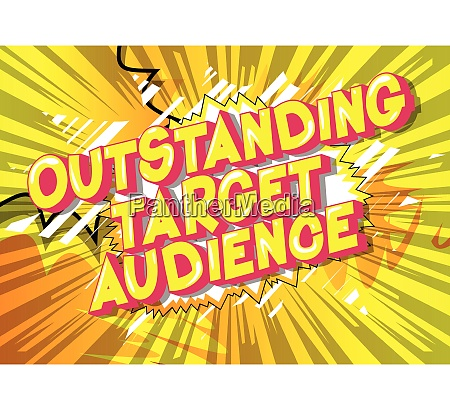 herausragendes ziel publikum comic buch stil
