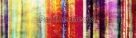 bunte aquarell streifen banner mit hinzugefuegtem