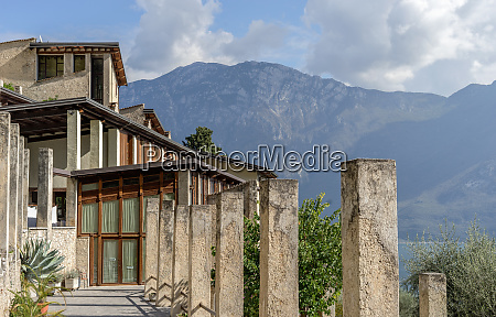 lemon house in limone on lake