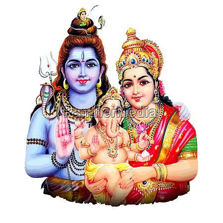 ganesha baby hindu lord faith maha