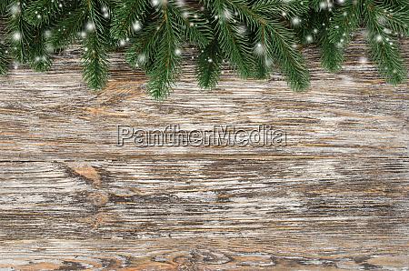 weihnachten und neujahr hoelzerner hintergrund mit