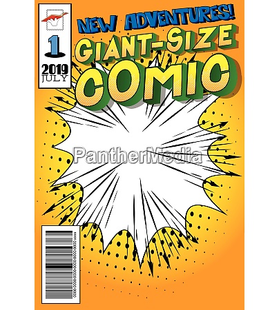 editable comic book cover