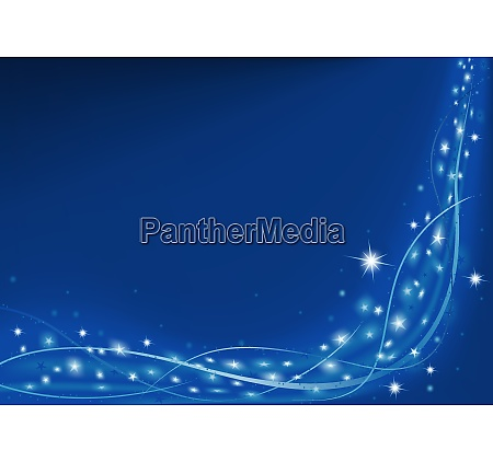 blue christmas background with sparkles