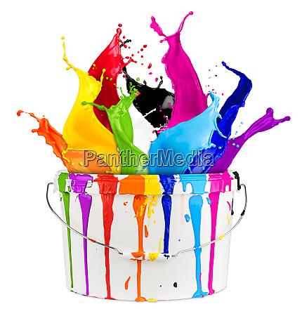 farbe spritzen bemalen