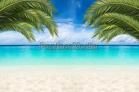 paradies strandhintergrund