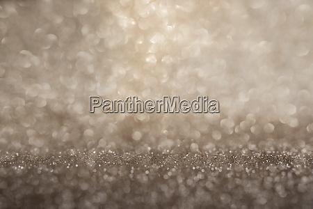 bright gold bokeh background