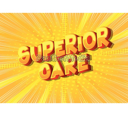 superior care comic buch stil woerter