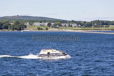 royal caribbean lifeboat past coastal resort