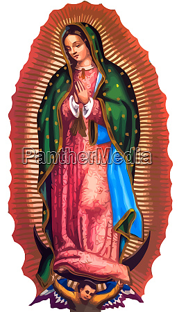 lady of guadalupe mexico saint holy