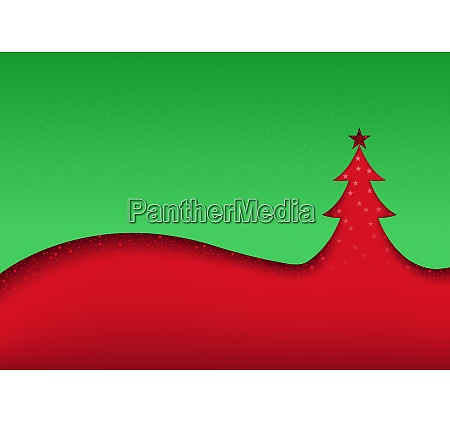 green red abstract christmas background