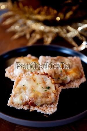 interesting meat ravioli asian style cuisine