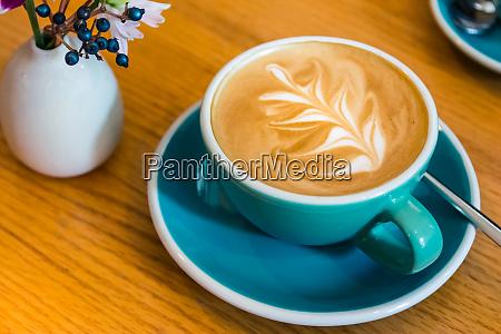 hipster vintage coffee shop foam design