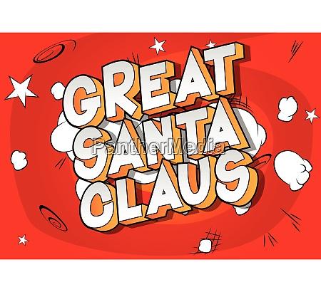 great santa claus comic book